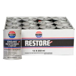 12 x 250ml cans Ametech Engine RESTORE Oil